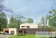 78-proekt.ru - Проект Одноквартирного Дома №12.  Вид №1
