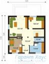 78-proekt.ru - Проект Одноквартирного Дома №140.  План Первого Этажа