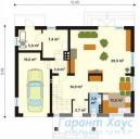 78-proekt.ru - Проект Одноквартирного Дома №49.  План Первого Этажа
