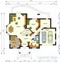 78-proekt.ru - Проект Одноквартирного Дома №116.  План Первого Этажа