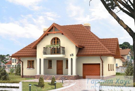 Проект одноквартирного дома № 114