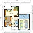 78-proekt.ru - Проект Одноквартирного Дома №269.  План Первого Этажа