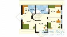 78-proekt.ru - Проект Одноквартирного Дома №41.  План Второго Этажа