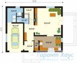 78-proekt.ru - Проект Одноквартирного Дома №234.  План Первого Этажа