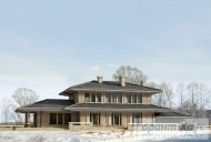 78-proekt.ru - Проект Одноквартирного Дома №302.  Вид №2