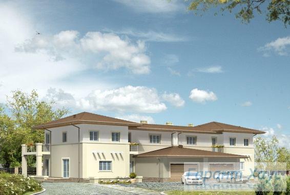 Проект двухквартирного дома № 1