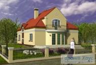 78-proekt.ru - Проект Одноквартирного Дома №148.  Вид №2