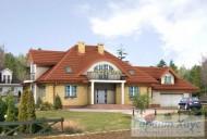 78-proekt.ru - Проект Одноквартирного Дома №324.  Вид №1