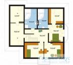 78-proekt.ru - Проект Одноквартирного Дома №200.  План Второго Этажа