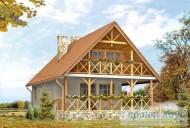 78-proekt.ru - Проект Одноквартирного Дома №289.  Вид №2