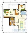 78-proekt.ru - Проект Одноквартирного Дома №160.  План Первого Этажа