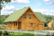 78-proekt.ru - Проект Одноквартирного Дома №136.  Вид №1