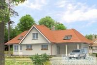 Проект одноквартирного дома № 245
