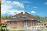 78-proekt.ru - Проект Одноквартирного Дома №133.  Вид №2