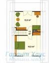 78-proekt.ru - Проект Одноквартирного Дома №194.  План Второго Этажа