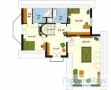 78-proekt.ru - Проект Одноквартирного Дома №44.  План Второго Этажа