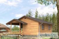 Проект дачного дома № 1