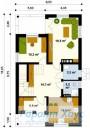 78-proekt.ru - Проект Одноквартирного Дома №165.  План Первого Этажа