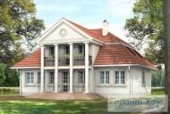 78-proekt.ru - Проект Одноквартирного Дома №222.  Вид №2