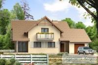 Проект одноквартирного дома № 186