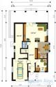 78-proekt.ru - Проект Одноквартирного Дома №317.  План Первого Этажа