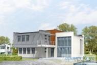 78-proekt.ru - Проект Одноквартирного Дома №183.  Вид №2