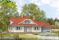 78-proekt.ru - Проект Одноквартирного Дома №322.  Вид №1