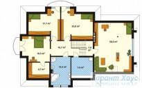 78-proekt.ru - Проект Одноквартирного Дома №35.  План Второго Этажа