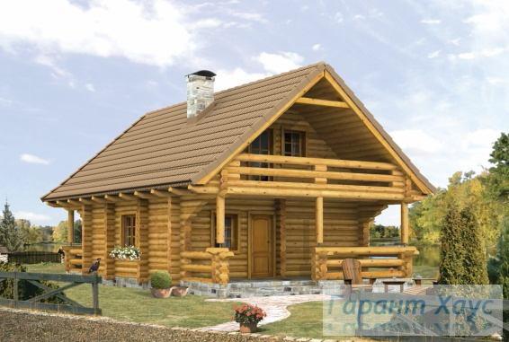 Проект дачного дома № 6