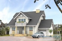 Проект одноквартирного дома № 58