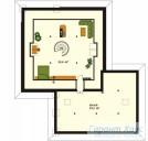 78-proekt.ru - Проект Одноквартирного Дома №54.  План Второго Этажа