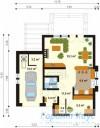 78-proekt.ru - Проект Одноквартирного Дома №276.  План Первого Этажа