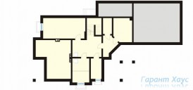78-proekt.ru - Проект Одноквартирного Дома №266.  План Подвала