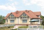 78-proekt.ru - Проект Двухквартирного Дома №18.  Вид №2