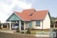 Проект одноквартирного дома № 261