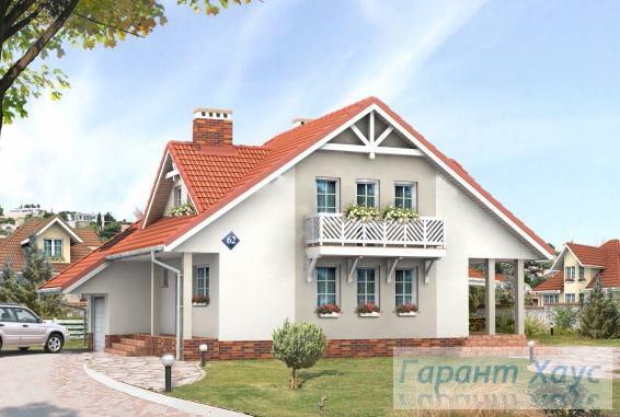 Проект одноквартирного дома № 307