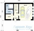 78-proekt.ru - Проект Дачного Дома №15.  План Первого Этажа
