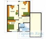 78-proekt.ru - Проект Одноквартирного Дома №273.  План Второго Этажа