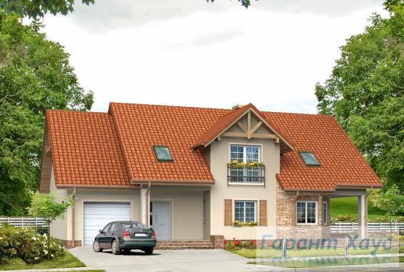 Проект одноквартирного дома № 141