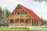 Проект дачного дома № 7