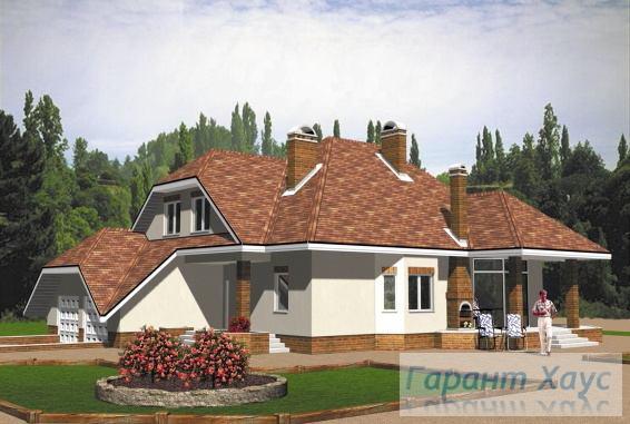 Проект одноквартирного дома № 216