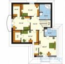78-proekt.ru - Проект Одноквартирного Дома №214.  План Второго Этажа