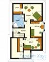 78-proekt.ru - Проект Одноквартирного Дома №314.  План Второго Этажа
