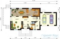 78-proekt.ru - Проект Одноквартирного Дома №321.  План Первого Этажа