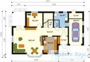 78-proekt.ru - Проект Одноквартирного Дома №88.  План Первого Этажа