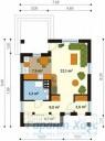 78-proekt.ru - Проект Одноквартирного Дома №288.  План Первого Этажа