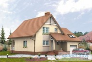 78-proekt.ru - Проект Одноквартирного Дома №268.  Вид №1