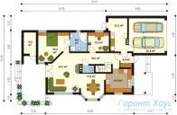 78-proekt.ru - Проект Одноквартирного Дома №181.  План Первого Этажа