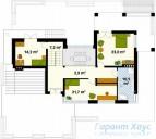 78-proekt.ru - Проект Одноквартирного Дома №213.  План Второго Этажа